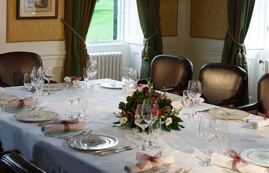 Exclusive dining in edinburgh dalmahoy hotel country club for Best private dining rooms edinburgh